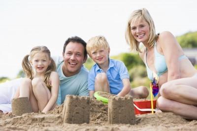 ferie med børn