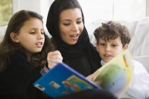 Højtlæsningsbøger udvider barnets horisont