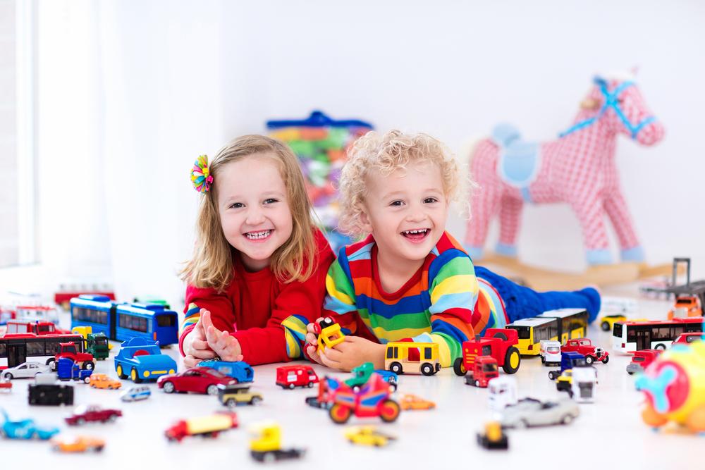 Giv dit barn en god opvækst med noget sjovt legetøj